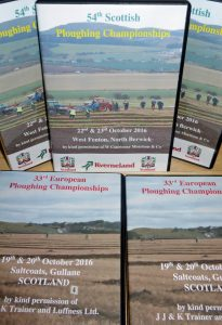 Scottish and European Reversible Ploughing Championships - DVDs