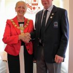 Civic Reception hosted by Provost of Angus for Andrew Mitchell Snr